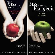 Cover-Bild zu Biss-Jubiläumsausgabe - Biss zum Morgengrauen / Biss in alle Ewigkeit (gekürzt) (Audio Download) von Meyer, Stephenie