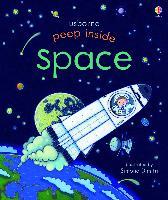 Cover-Bild zu Peep Inside: Space von Milbourne, Anna