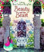 Cover-Bild zu Peep Inside a Fairy Tale: Beauty and the Beast von Milbourne, Anna