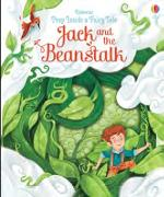Cover-Bild zu Peep Inside a Fairy Tale Jack and the Beanstalk von Milbourne, Anna
