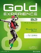 Cover-Bild zu Gold Experience B2 Students' Book with DVD-ROM and MyEnglishLab von Edwards, Lynda