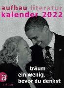 Cover-Bild zu Aufbau Literatur Kalender 2022 von Böhm, Thomas (Hrsg.)