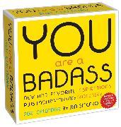 Cover-Bild zu You Are a Badass 2021 Day-to-Day Calendar von Sincero, Jen