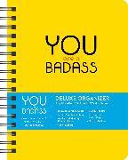 Cover-Bild zu You Are a Badass 17-Month 2020-2021 Monthly/Weekly Planning Calendar von Sincero, Jen