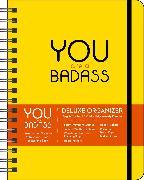 Cover-Bild zu You Are a Badass 17-Month 2021-2022 Monthly/Weekly Planner Calendar von Sincero, Jen