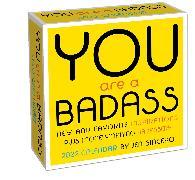 Cover-Bild zu You Are a Badass 2022 Day-to-Day Calendar von Sincero, Jen