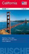 Cover-Bild zu USA California. 1:800'000 von Busche Verlagsgesellschaft mbH (Hrsg.)