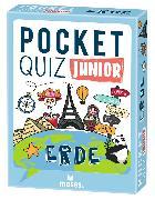Cover-Bild zu Pocket Quiz junior Erde von Winzer, Jürgen