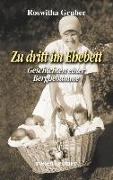 Cover-Bild zu Zu dritt im Ehebett von Gruber, Roswitha