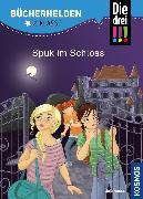 Cover-Bild zu Die drei !!!, Bücherhelden 2. Klasse, Spuk im Schloss (drei Ausrufezeichen) (eBook) von Ambach, Jule
