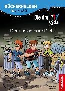 Cover-Bild zu Die drei ??? Kids, Bücherhelden 2. Klasse, Der unsichtbare Dieb (drei Fragezeichen Kids) (eBook) von Blanck, Ulf