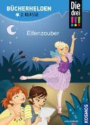 Cover-Bild zu Die drei !!!, Bücherhelden 2. Klasse, Elfenzauber von Ambach, Jule