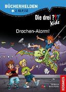 Cover-Bild zu Die drei ??? Kids, Bücherhelden 2. Klasse, Drachen-Alarm! von Blanck, Ulf