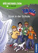 Cover-Bild zu TKKG Junior, Bücherhelden 1. Klasse, Spuk in der Schule (eBook) von Vogel, Kirsten