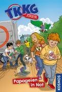 Cover-Bild zu TKKG Junior, 5, Papageien in Not von Vogel, Kirsten