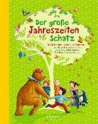 Cover-Bild zu Der große Jahreszeitenschatz von Fröhlich, Anja