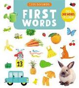 Cover-Bild zu First Words: Over 500 Words to Learn! von Jugla, Cecile