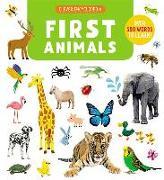 Cover-Bild zu First Animals: Over 500 Words to Learn! von Jugla, Cecile