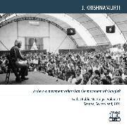 Cover-Bild zu Krishnamurti, Jiddu: What is a chaste mind? (Audio Download)
