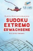 Cover-Bild zu Sudoku Extremo Erwachsene | Sudoku Spanische Ausgabe | Mit 240 Rätseln von Puzzle Therapist