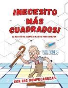 Cover-Bild zu ¡Necesito más cuadrados! | El desafío de sudokus de 16x16 para adultos | Con 242 rompecabezas von Puzzle Therapist