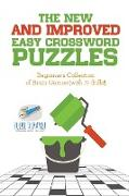 Cover-Bild zu The New and Improved Easy Crossword Puzzles | Beginner's Collection of Brain Games (with 70 drills!) von Puzzle Therapist
