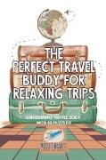 Cover-Bild zu The Perfect Travel Buddy for Relaxing Trips | Crossword Travel Book with 46 Puzzles von Puzzle Therapist