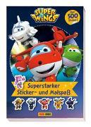 Cover-Bild zu Super Wings: Superstarker Sticker- und Malspaß von Panini