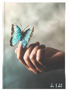 Cover-Bild zu Biella Schüleragenda mydiary 21/22, wattiert, Style