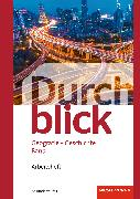 Cover-Bild zu Durchblick Geografie Geschichte 1. Arbeitsheft. CH von Davanzo, Eva