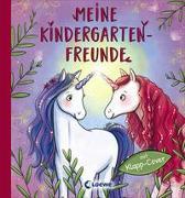 Cover-Bild zu Meine Kindergarten-Freunde (Einhörner) von Loewe Eintragbücher (Hrsg.)