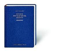 Cover-Bild zu Novum Testamentum Graece (Nestle-Aland) von Nestle, Eberhard und Erwin (Begründet v.)