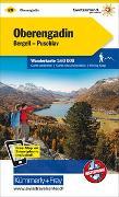 Cover-Bild zu Hallwag Kümmerly+Frey AG (Hrsg.): Oberengadin, Bergell, Puschlav Wanderkarte Nr. 28. 1:60'000