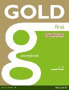 Cover-Bild zu New Gold First NE 2015 Coursebook w/ online audio von Bell, Jan
