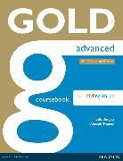 Cover-Bild zu New Gold Advanced 2015 Coursebook with MyLab Pack von Thomas, Amanda