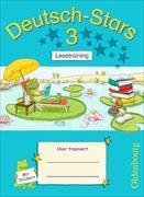 Cover-Bild zu Deutsch-Stars - Lesetraining 3. Schuljahr. Übungsheft mit Lösungen
