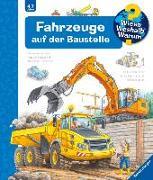 Cover-Bild zu Fahrzeuge auf der Baustelle von Erne, Andrea