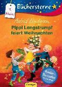 Cover-Bild zu Pippi Langstrumpf feiert Weihnachten von Lindgren, Astrid