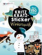 Cover-Bild zu Kritzkratz-Sticker Winterspaß von Schindler, Eva (Gestaltet)