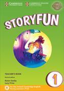 Cover-Bild zu Storyfun for Starters Level 1 Teacher's Book with Audio von Saxby, Karen