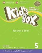 Cover-Bild zu Kid's Box Level 5 Teacher's Book British English von Frino, Lucy