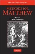 Cover-Bild zu Methods for Matthew (eBook) von Powell, Mark Allan (Hrsg.)