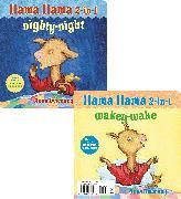 Cover-Bild zu Llama Llama 2-in-1: Wakey-Wake/Nighty-Night von Dewdney, Anna