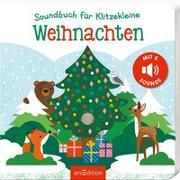 Cover-Bild zu Soundbuch für Klitzekleine - Weihnachten von Marshall, Natalie (Illustr.)