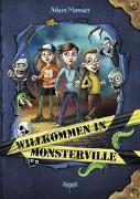 Cover-Bild zu Willkommen in Monsterville von Monster, Adam