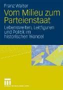 Cover-Bild zu Vom Milieu zum Parteienstaat von Walter, Franz