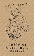 Cover-Bild zu Kleiner Mann - was nun? (eBook) von Fallada, Hans