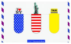 Cover-Bild zu Magnetlesezeichen New York