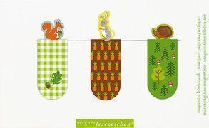 Cover-Bild zu Magnetlesezeichen Wald- & Wiesentiere