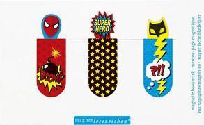 Cover-Bild zu Magnetlesezeichen Superhelden